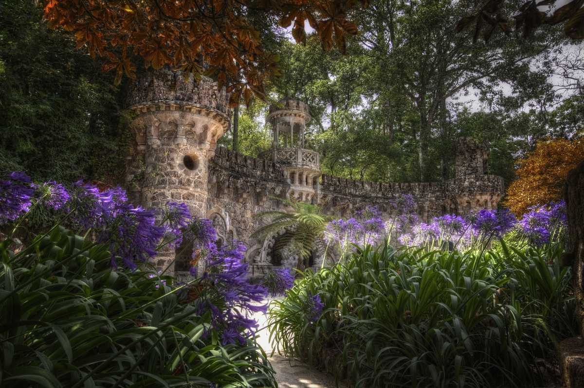...Garden of Quinta da Regaleira...