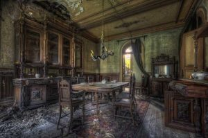 ...Dinner in Decay...