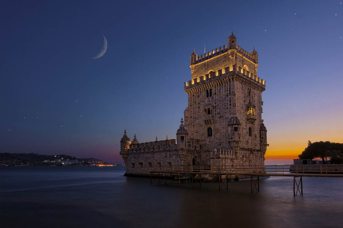 ...Torre de Belém...