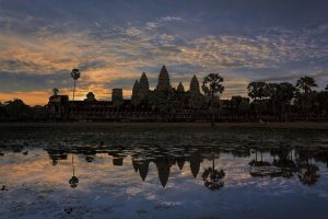 ...Angkor Sunset...