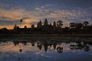 ...Angkor Sunset...